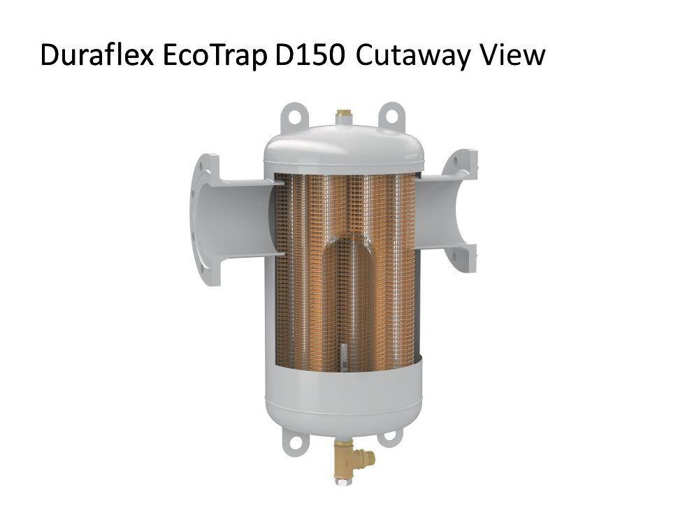 EcoTrap D150 cutaway