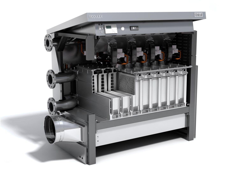 Hot Water Heat Boilers ~ Modulex condensing hot water heaters