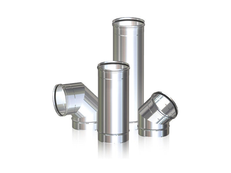 Single Wall Stainless Steel Flue_2