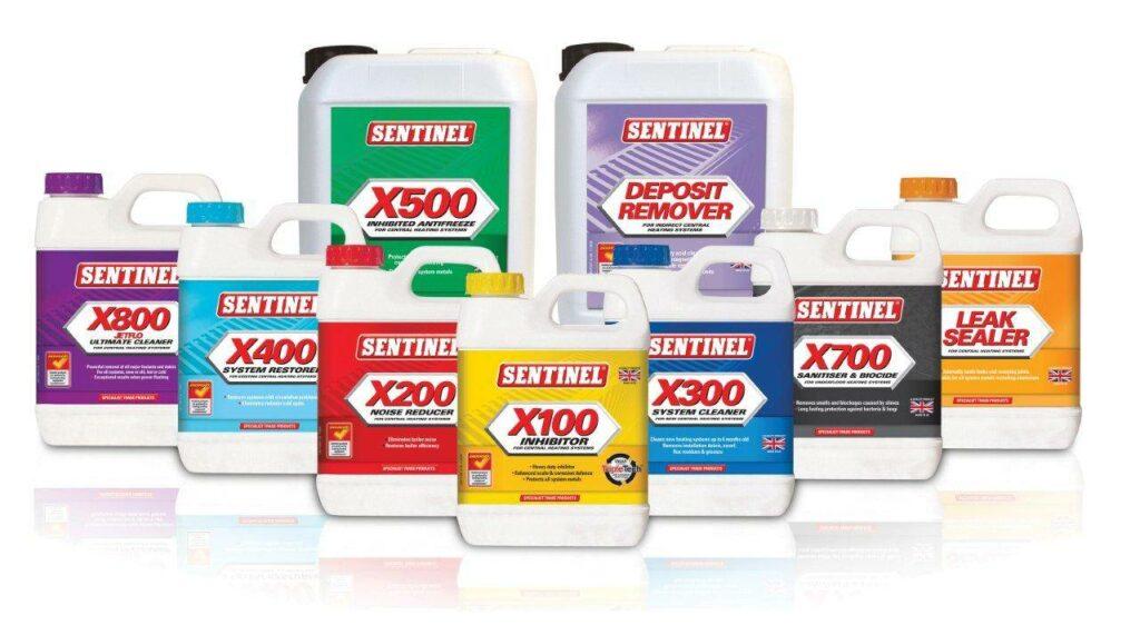 Sentinel Water Treatment Range corrosion inhibitor