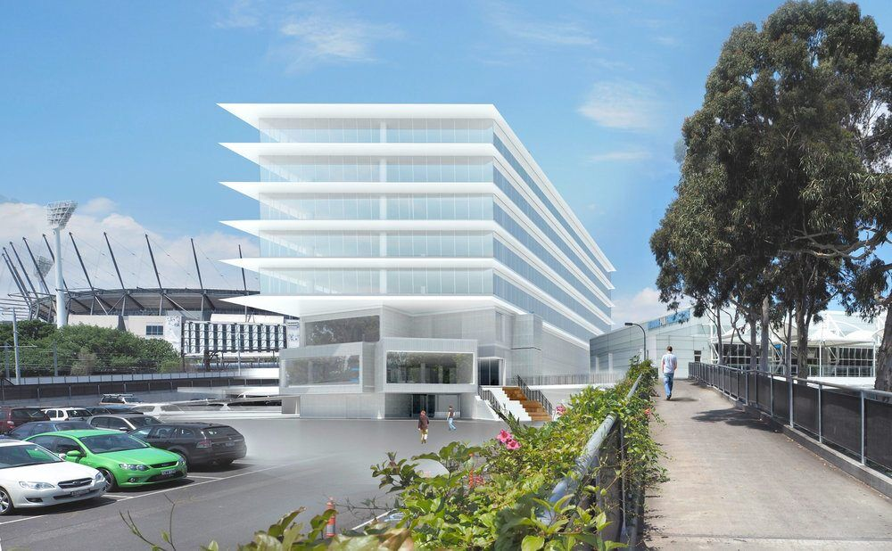 MelbournePark_Administration&MediaBuilding_ConceptImage_HASSELL