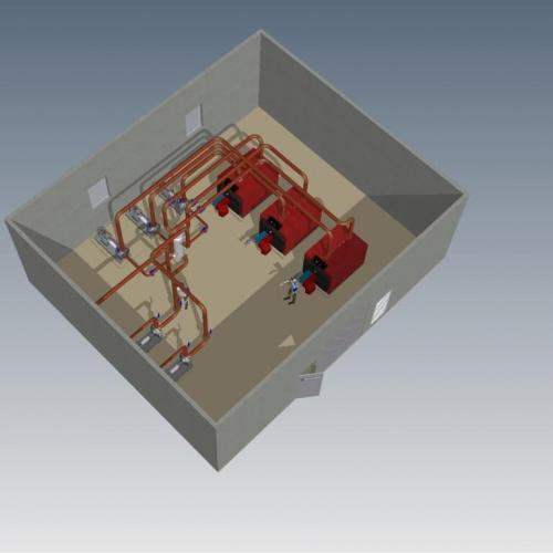 Mechanical Plantroom Design and Layout