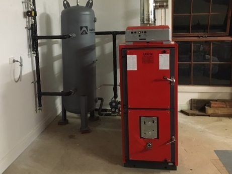 Wood Fired Hydronic Heating Firex Solid Fuel Boiler