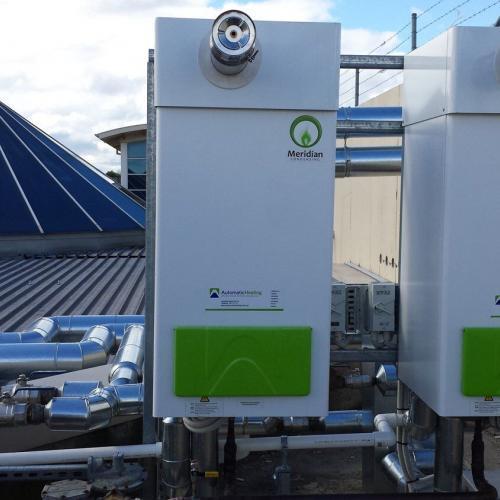 Meridian Condensing Hot Water Heaters