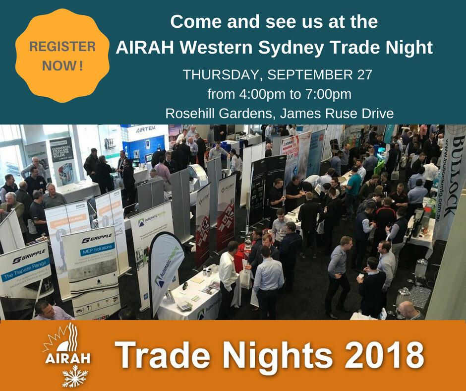 Western Sydney AIRAH Trade Night