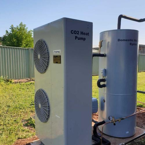 Commercial Heat Pumps for Hot Water and Heating