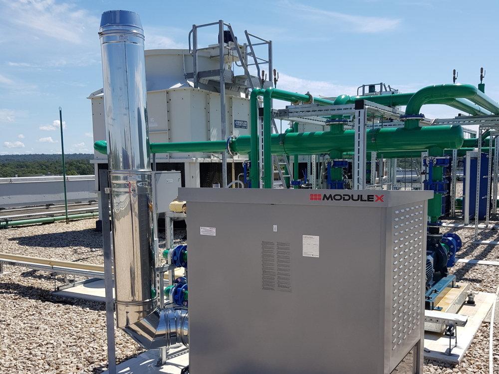 Modulex condensing water heater-2